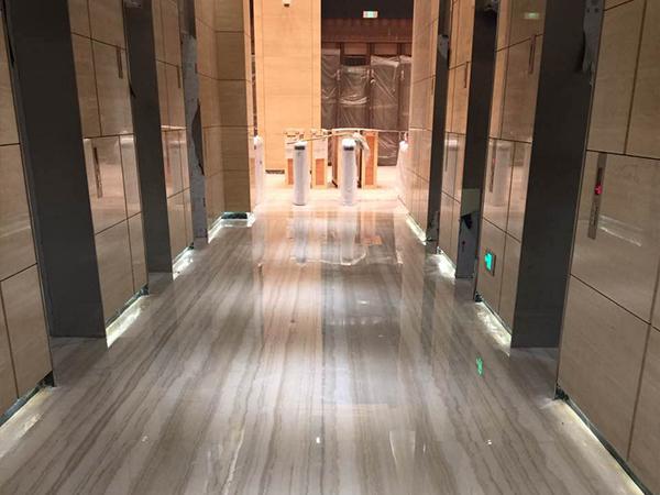 办公楼宇地板石材护理